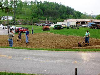 Garden work 5-14-10